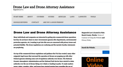 jrupprechtlaw.com - drone law and drone attorney ssistance -