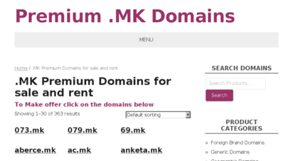 Welcome to Jsp mk - Products – Premium  MK Domains