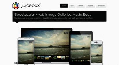 juicebox.net - juicebox - the ultimate html5 image gallery