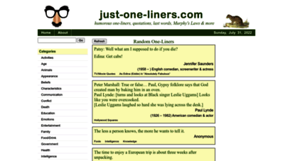 just-one-liners.com
