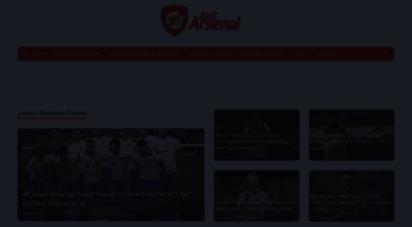 justarsenal.com - just arsenal news  arsenal transfer news & rumours  arsenal fc team news