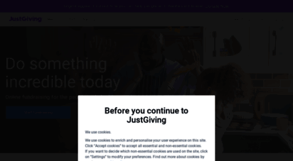 justgiving.com - online fundraising donations and ideas - justgiving