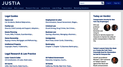 justia.com - justia :: free law & legal information for lawyers, students, business and the public