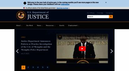 justice.gov - u.s. department of justice