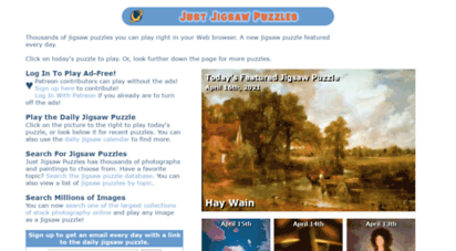 Welcome to Justjigsawpuzzles com - Jigsaw Puzzles