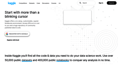 kaggle.com - kaggle: your machine learning and data science community