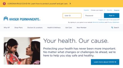 kaiserpermanente.org - custom care & coverage just for you  kaiser permanente