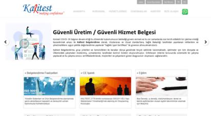 kalitest.com.tr - kalitest - kalite belgelendirme, eğitim, ce belgesi, iso belgesi, 0212 269 37 41