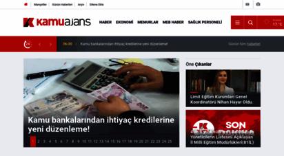 kamuajans.com - kamuajans - memurhaber memurlar biz ve kamudan haber