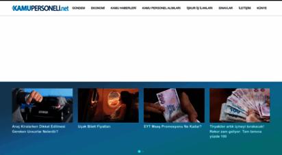 kamupersoneli.net - kamu personeli haberleri - iş ilanları - işçi alımı - işkur iş ilanları