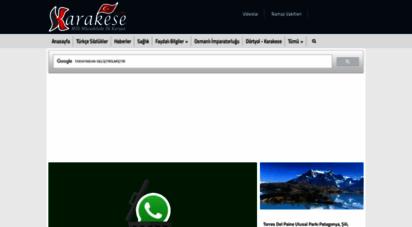karakese.com - çukurova bölgesinin en güncel bilgi sitesi