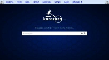 kararara.com - yargıtay ve danıştay kararları - içtihat arama motoru - hukuk forumu