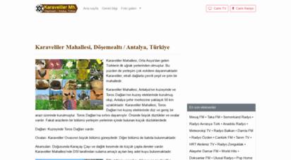 karaveliler.com - karaveliler beldesi, döşemealtı, antalya, türkiye - www.karaveliler.com