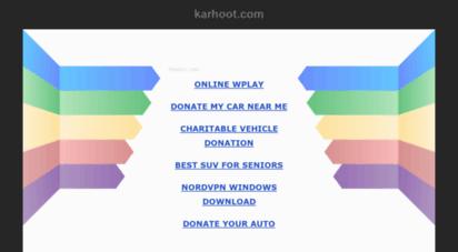 karhoot.com -