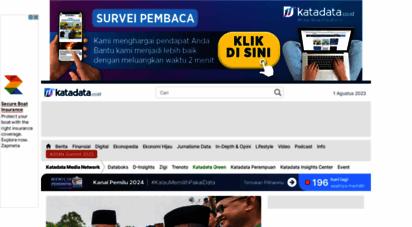 katadata.co.id - berita terkini ekonomi dan bisnis indonesia - katadata.co.id