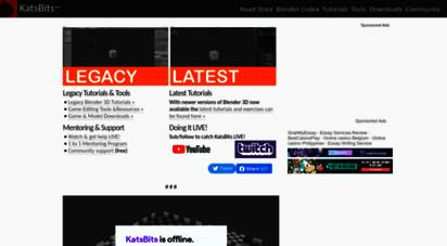 katsbits.com - blender game, design and editing tutorials and tools : katsbits.com