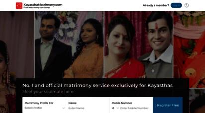 kayasthamatrimony.com - kayastha matrimony - matrimonial - communitymatrimony.com