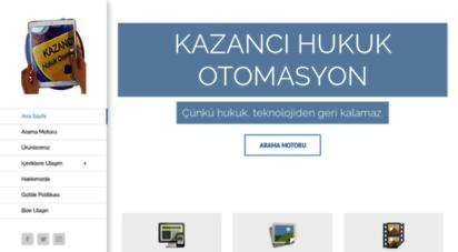 kazanci.com.tr - kazanci hukuk otomasyon