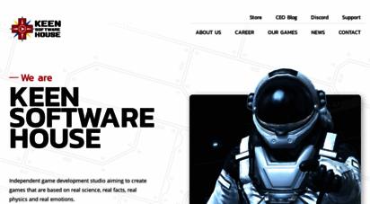 keenswh.com - keen software house - news