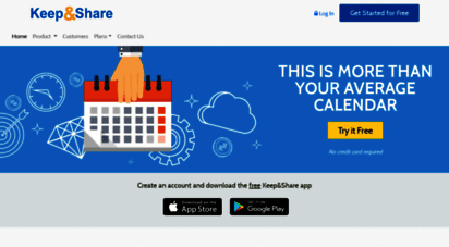 keepandshare.com - online calendar sharing & collaboration tools  keepandshare