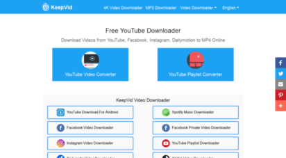 keepvid.pro - keepvid: youtube downloader, download video from youtube, facebook, instagram to mp4 online
