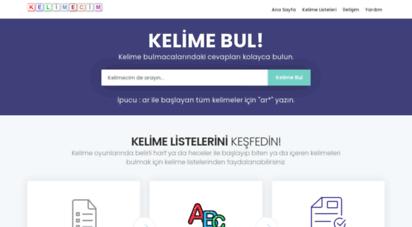 kelimecim.com