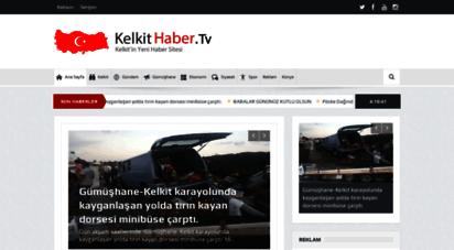 kelkithaber.tv - kelkit haber. tv kelkit´in en yeni haber sitesi