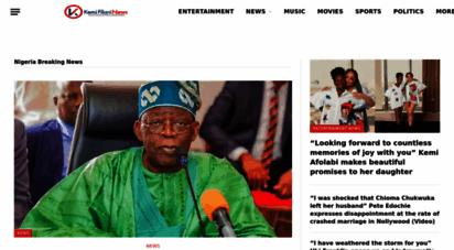 kemifilani.ng - latest nigerian news today, nigerian online newspaper - kemi filani news