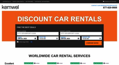 kemwel.com - kemwel cheap car rentals, airfare, and hotels