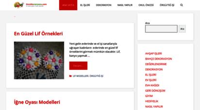 kendinyapsana.com - kendin yap projeleri - resimli anlatımlar