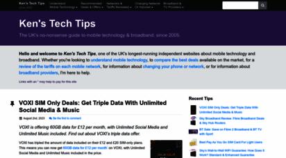 kenstechtips.com - ken´s tech tips: uk mobile networks & smartphone advice