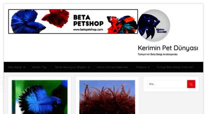 keriminpetdunyasi.com - kerimin pet dünyası  türkiye´nin beta balığı ansiklopedisi