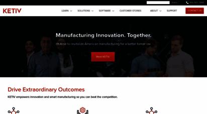 ketiv.com - home  ketiv  autodesk gold partner - manufacturing