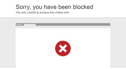 key-notes.com