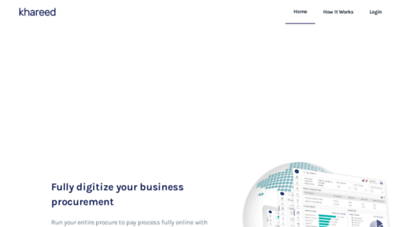khareed.pk - khareed - eprocurement platform and b2b marketplace - procurement software - pakistan