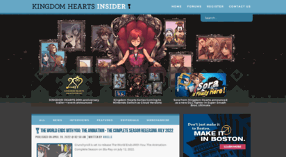 khinsider.com - kingdom hearts insider