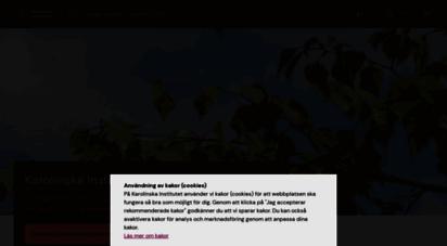 ki.se - karolinska institutet - ett medicinskt universitet