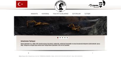 kiaskomur.com.tr - kömür işletmeleri anonim şirketi