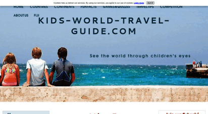 kids-world-travel-guide.com - kids world travel guide: online travel guide for kids and parents