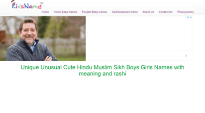 kidsname.info - unique unusual baby boys girls nameshindu muslim sikh namesmost popular names  kidsname.info