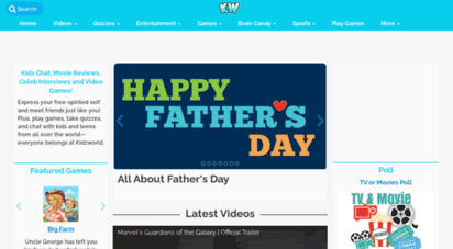 kidzworld.com - kids chat  kids world website  online teen chat room  free kid games