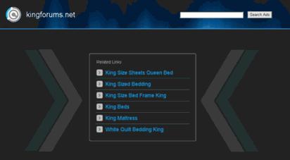 kingforums.net - just a moment please...