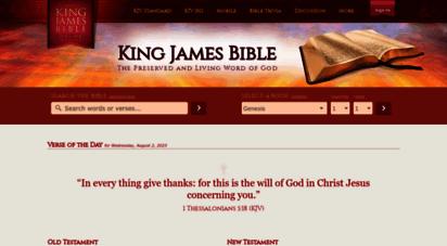 similar web sites like kingjamesbibleonline.org