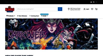 kingscomics.com - kings comics