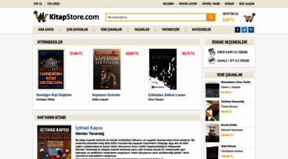 kitapstore.com - kitapstore.com - internetteki kitabeviniz...