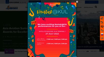 klia.com.my - klia - malaysia airports holdings berhad