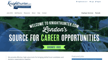 knighthunter.com - knighthunter.com - london ontario - local jobs, local candidates