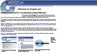 knoppix.net - knoppix linux boot cd, download disk and docments, discuss, get help