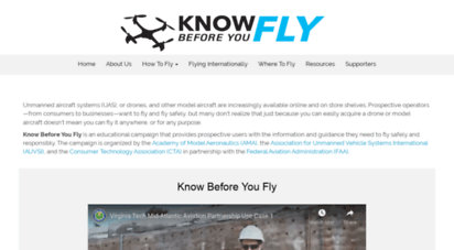 knowbeforeyoufly.org