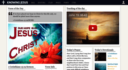 knowing-jesus.com - knowing jesus